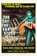 "Movie Posters:Science Fiction, The Day the Earth Stood Still (20th Century Fox, 1951). One Sheet (27"" X 41""). Science Fiction.. ..."