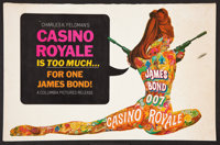 "Casino Royale (Columbia, 1967). Pressbook (Multiple Pages, 11"" X 17"") and Ad Supplements (2) (Multiple Pages..."