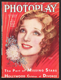 """Photoplay (Photoplay Publishing, 1930). Magazine (8.5"""" X 11.5"""", 156 Pages). Miscellaneous"""