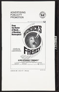 """Movie Posters:Hitchcock, Frenzy Lot (Universal, 1972). Pressbooks (2) (Multiple Pages, 9"""" X13.75""""). Hitchcock.. ... (Total: 4 Items)"""