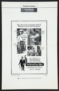 "The Thomas Crown Affair (United Artists, 1968). Pressbook (Multiple Pages 11"" X 17""). Crime"