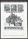 "Movie Posters:War, The Dirty Dozen (MGM, 1967). Pressbook (Multiple Pages, 12"" X 17"").War.. ..."