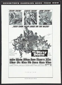 "The Dirty Dozen (MGM, 1967). Pressbook (Multiple Pages, 12"" X 17""). War"