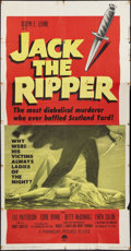 "Movie Posters:Mystery, Jack the Ripper (Paramount, 1960). Three Sheet (41"" X 81"").Mystery.. ..."