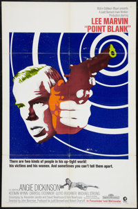"Point Blank (MGM, 1967). One Sheet (27"" X 41""). Crime"