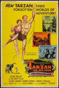 "Movie Posters:Adventure, Tarzan the Ape Man (MGM, 1959). Poster (40"" X 60""). Adventure.. ..."