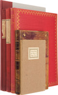 Books:First Editions, Six Scarce Books About Books, including: [Roger Payne]. Extractsfrom the Diary of Roger Payne. New York: The Ha... (Total: 6Items)