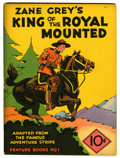 Platinum Age (1897-1937):Miscellaneous, Feature Books #1 Zane Grey's King of the Royal Mounted (David McKayPublications, 1937) Condition: GD....