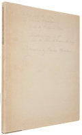 """Books:First Editions, [Bernhardt Wall, illustrator]. Edwin Markham. """"The Man With theHoe."""" Lime Rock, Connecticut: Printed and Published ..."""