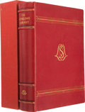 Books:First Editions, [Sir Louis Sterling]. The Sterling Library. A Catalogueof the Printed Books and Literary Manuscripts Collected by...