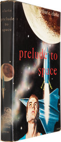 Books:Signed Editions, Arthur C. Clarke. Prelude to Space. New York: Gnome Press,[1954]....