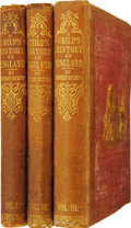 Books:First Editions, Charles Dickens. A Child's History of England. With aFrontispiece by F. W. Topham. Volume I. England from the A...(Total: 3 Items)