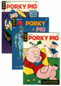 Bronze Age (1970-1979):Cartoon Character, Porky Pig File Copies Group (Gold Key, 1966-80) Condition: Average VF+.... (Total: 46 Comic Books)