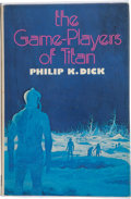 Books:First Editions, Philip K. Dick. The Game-Players of Titan. London, et al.:White Lion Publishers Limited, [1974]. First UK (and ...