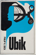 Books:First Editions, Philip K. Dick. Ubik. [London]: Rapp + Whiting, [1970].First UK edition. Octavo. 202 pages. Publisher's cloth w...