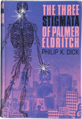 Books:First Editions, Philip K. Dick. The Three Stigmata of Palmer Eldritch.London: Jonathan Cape, [1966]. First UK edition. Octavo. ...