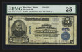 National Bank Notes:Maine, Rockland, ME - $5 1902 Plain Back Fr. 606 The North NB Ch. # 2371....