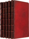 Books:First Editions, Charles Dickens. Five Christmas Books, including: A ChristmasCarol. In Prose. Being a Ghost Story of Christmas.... (Total: 5Items)