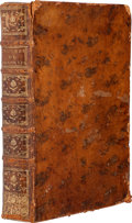 Books:First Editions, Benjamin Franklin. Oeuvres de M. Franklin, Docteur èsLoix. Paris: Quillau, 1773.. First edition, thus. Two qu...