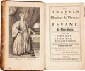 Books:Non-fiction, [Archibald Lowell, translator.] Jean de Thévenot. The Travels ofMonsieur de Thévenot into the Levant. In Three Pa...