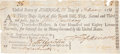 "Autographs:Statesmen, Declaration of Independence Signer Francis Hopkinson DocumentSigned, ""F Hopkinson"", partially printed document, onepag..."