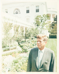 [John F. Kennedy]. Kenneth O'Donnell Archive of Twenty-Six Photographs related to the thirty-fifth president. These p