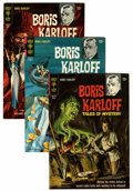 Bronze Age (1970-1979):Horror, Boris Karloff Tales of Mystery File Copies Group (Gold Key,1966-79) Condition: Average VF/NM.... (Total: 55 Comic Books)