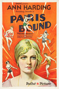 "Movie Posters:Drama, Paris Bound (Pathé, 1929). One Sheet (27"" X 41"") Style A.. ..."