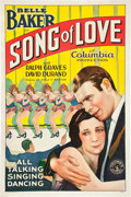 """Movie Posters:Musical, Song of Love (Columbia, 1929). One Sheet (27"""" X 41"""").. ..."""