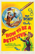 "Movie Posters:Animation, How to be a Detective (RKO, 1952). One Sheet (27"" X 41"").. ..."