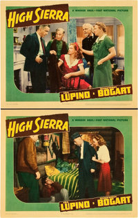 """High Sierra (Warner Brothers, 1941). CGC Graded Lobby Cards (2) (11"""" X 14""""). ... (Total: 2 Items)"""
