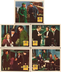 "The Hound Of The Baskervilles (20th Century Fox, 1939). CGC Graded Lobby Cards (5) (11"" X 14""). ... (Total: 5..."