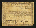 Colonial Notes:New Hampshire, New Hampshire April 29, 1780 $5 Fine.. ...