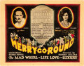 """Movie Posters:Drama, Merry Go Round (Universal, 1923). Title Lobby Card (11"""" X 14"""").. ..."""