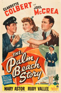 "Movie Posters:Comedy, The Palm Beach Story (Paramount, 1942). One Sheet (27"" X 41"").. ..."