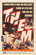 """Movie Posters:Science Fiction, Them! (Warner Brothers, 1954). One Sheet (27"""" X 41"""").. ..."""