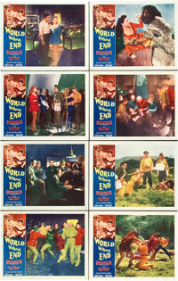 """World Without End (Allied Artists, 1956). CGC Graded Lobby Card Set of 8 (11"""" X 14""""). ... (Total: 8 Items)"""