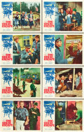 "Movie Posters:War, The Great Escape (United Artists, 1963). Lobby Card Set of 8 (11"" X14""). War.. ... (Total: 8 Items)"