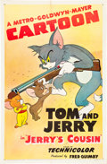 "Movie Posters:Animated, Jerry's Cousin (MGM, 1950). One Sheet (27"" X 41"").. ..."