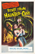 """Movie Posters:Horror, Beast from Haunted Cave (Film Group, 1959). One Sheet (27"""" X 41"""").. ..."""