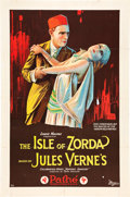 "Movie Posters:Adventure, Mathias Sandorf (The Isle of Zorda) (Pathé, 1921). One Sheet (27"" X 41"").. ..."