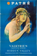 "Movie Posters:Drama, Hidden Valley (Pathé, 1916). One Sheet (27"" X 41"").. ..."