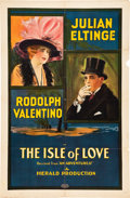 """Movie Posters, Isle of Love (Herald Pictures, 1922). One Sheet (27"""" X 41"""").. ..."""