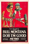 "Movie Posters:Comedy, Rob 'em Good (Metro, 1923). One Sheet (27"" X 41"").. ..."