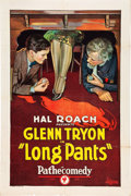 "Movie Posters:Comedy, Long Pants (Pathé, 1926). One Sheet (27"" X 41"").. ..."