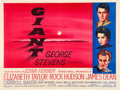 "Movie Posters:Drama, Giant (Warner Brothers, 1956). British Quad (30"" X 40"").. ..."