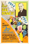 "Movie Posters:Comedy, Hail Hal Roach (MGM, 1934). One Sheet (27"" X 41"").. ..."