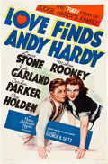 "Movie Posters:Comedy, Love Finds Andy Hardy (MGM, 1938). One Sheet (27"" X 41"") Style C....."
