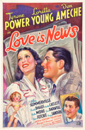 "Movie Posters:Comedy, Love is News (20th Century Fox, 1937). One Sheet (27"" X 41"").. ..."