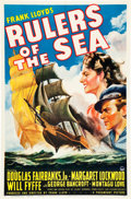 """Movie Posters:Adventure, Rulers of the Sea (Paramount, 1939). One Sheet (27"""" X 41"""") StyleB.. ..."""